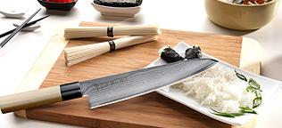 Tojiro SIPPU Damast Messer