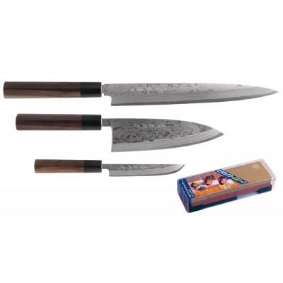 Japanisches Messerset von Hideo Kitaoka