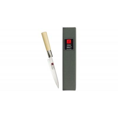 Sekiryu Damast Allzweckmesser 130mm Magnolie SR-DMW700 (ver)