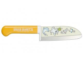 Tojiro Brisa Bonita Kindermesser gelb