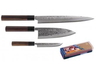 Hideo Kitaoka Damast Messerset 4tlg.