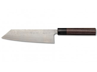 Shiro Kamo Powder Steel Damast Bunka 170mm
