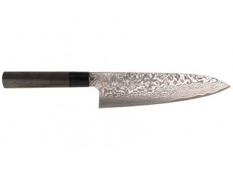 Shiro Kamo Powder Steel Damast Kochmesser 210mm