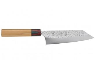 Yu Kurosaki Shizuku Bunka Messer 165mm Keyaki Rückseite