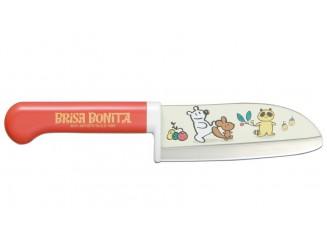 Tojiro Brisa Bonita Kindermesser rot